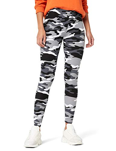 Urban Classics Ladies Leggings, Multicolore (Snow Camo 787), XL Donna