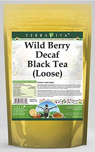 Wild Berry Decaf Black Tea Loose 4 Large special price 2 539843 Pack - New Free Shipping ZIN: oz