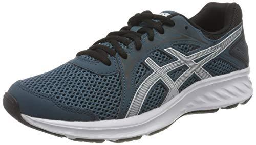 ASICS Jolt 2, Running Shoe Uomo, Magnetic Blue/White, 42.5 EU