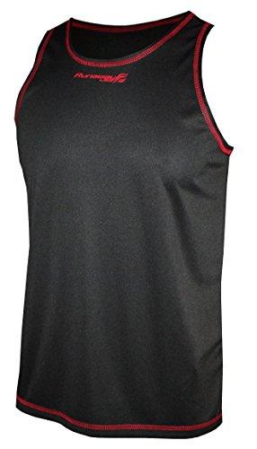 Softee – T-Shirt Running Bolt Runaway Jim Couleur Rouge Taille XL