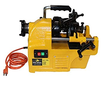 Steel Dragon Tools 7991 1/2 - 1  Power Pipe Threader Threading Machine and Self Oiling Die Head