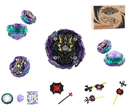 CHENGKETOYS Great Dragon Dread Bahamut Battling Top Metal Fusion. Left & Right Launcher for Boys. Compete Using Beyblade Burst Launcher, Win with Your Dragon Beyblade with Launcher.