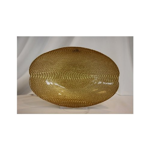 Akcam Schale Schlange Gold Glitter Obstschale Salatschale