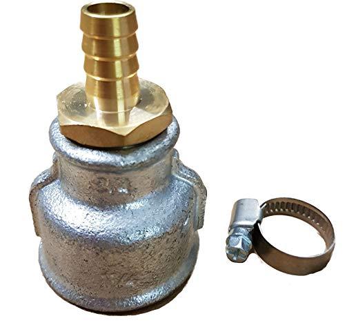 Spülmuffe für für einen Rammbrunnen oder Schlagbrunnen_-=-_ Auch im Sortiment sind versch. Brunnenbauset Brunnenrohr Brunnenfilter Erdbohrer Schwengelpumpe also alles für den Brunnenbau