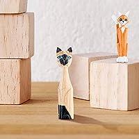Kurtzy Cubi Legno da Decorare (30 Set) - Cubi di Legno Decorare 3 x 3 x 3 cm - Cubo Legno di Pino Naturale Grezzo - Cubetti di Legno per Fai da Te, Stampi, Arte e Artigianato, Puzzle e Numeri #7
