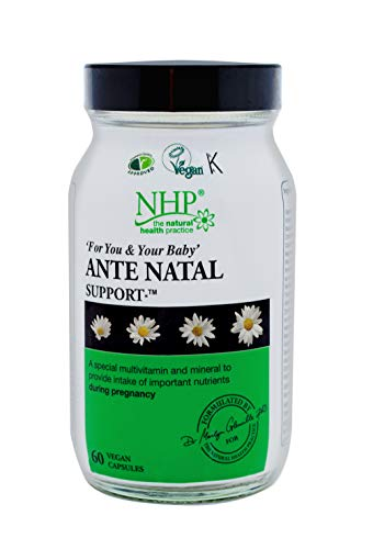 Natural Health Practice Ante Natal Support (60 Capsules) Multivitamin & Minerals for Healthy Pregnancy