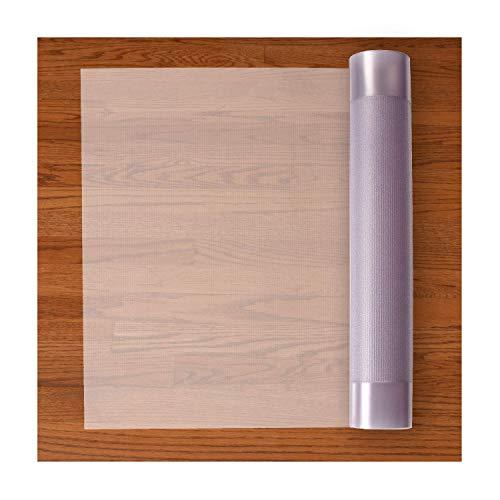 Resilia Premium Heavy Duty Floor Runner/Protector for Hardwood Floors – Clear, Plastic Vinyl, Clear American Modern, 27 Inches x 6 Feet