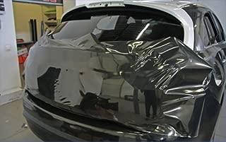 4D Film carbone noir mat avec canaux da/ération Holographic Carbon Car Wrapping