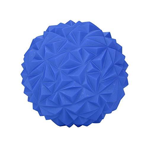 Okuyonic Media Bola de Yoga Ultra Grande para niños y Adultos para Ejercicio de Pilates para Gimnasio y Fitness(Black, Blue)