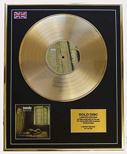 SUEDE/Cd Disco de Oro Disco Edicion Limitada/CD GOLD DISC/ALBUM 'DOG MAN STARS'(Suede)