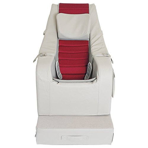 SEEDS クッションチェア 【 Lサイズ カバーシート レザー 合皮タイプ 赤 】 10〜13才用 室内用 座位保持装置