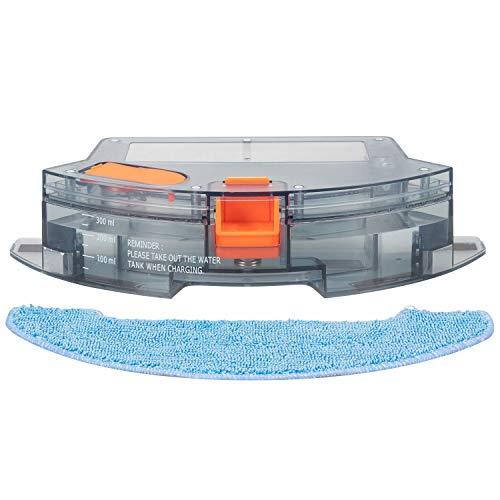 Bagotte BG800 Saugroboter Wassertank für Wischfunktion, Staubsauger Roboter Wassertank