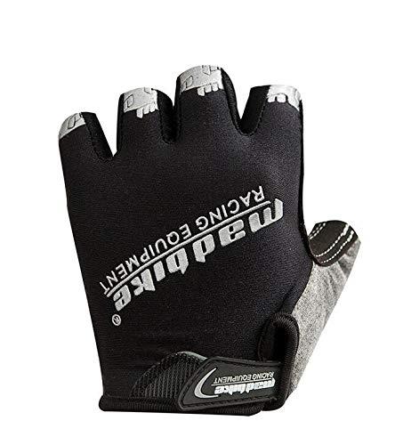 WXZB Outdoor-Bergsport, Anti-Rutsch-Handschuhe, Bergsteiger-Handschuhe, Wander-Handschuhe, Sommer-Sport-Handschuhe und Sommer atmungsaktive...