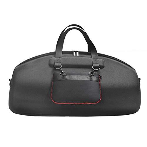 Hotsel Bolsa de viaje rígida para Boombox, bolsa de almacenamiento para altavoces, impermeable, portátil, con Bluetooth, con correa para el hombro