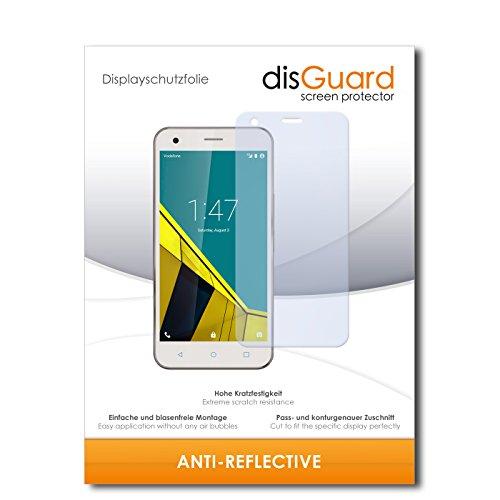 disGuard® Bildschirmschutzfolie [Anti-Reflex] kompatibel mit Vodafone Smart Ultra 6 [4 Stück] Entspiegelnd, Matt, Antireflektierend, Extrem Kratzfest, Anti-Fingerabdruck - Panzerglas Folie, Schutzfolie