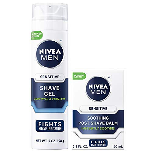 NIVEA MEN Sensitive Shaving Skin Care Set, 2 Pack