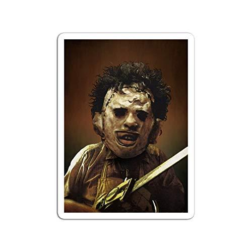 KoutYukshop Sticker Motion Picture Texas Chainsaw Massacre Fan Art Classic Movies Video Film (3