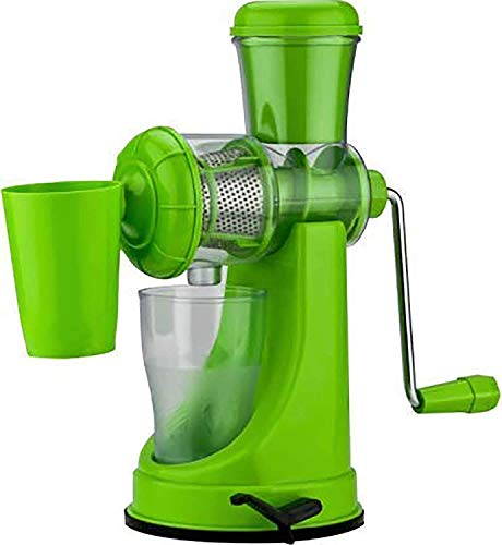 Ash & Roh® Unity Fruit and Vegetable Manual Juicer with Steel Handle Hand with Vacuum Unit Locking System Machine for Home