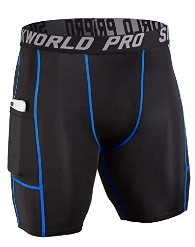 SILKWORLD Men's Compression Shorts Running Tight
