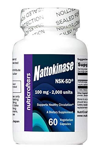 Nattokinase 2,000 Units 60 Capsules. NSK-SD - The Original and Most Studied Nattokinase Brand.