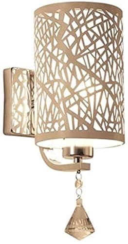KFJZGZZ lámpara de Mesa Moderna Minimalista lámpara de Pared Dormitorio Sala de Estar lámpara Cristal lámpara lámpara Creativa Escalera luz lámpara de Noche lámpara de Noche lámparas de Noche