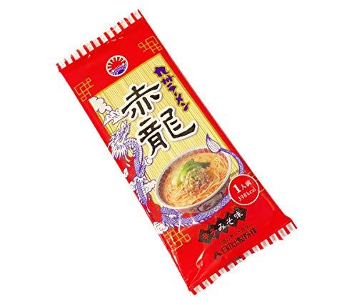 ピリ辛味噌とんこつ熊本赤龍ラーメン1人前ノンフライ麺