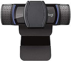 Webcam Full HD Logitech C920s com Microfone e Proteção de Privacidade para Gravações em 1080p Widescreen, Compatível com...