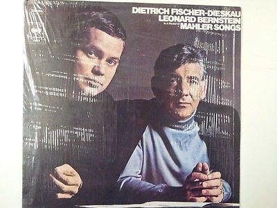 LP FISCHER-DIESKAY - BERNSTEIN Mahler Songs / CBS 72973