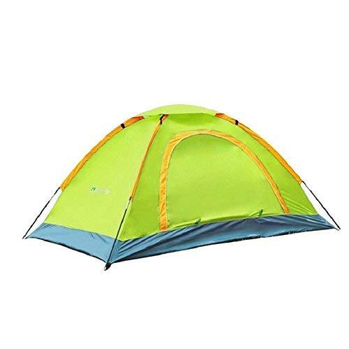RYP Guo Outdoor Products Outdoor Convient pour 2 Personnes Utilisez des tentes, Camping Tentes de Plage, Oxford crème Solaire imperméable à l'eau, Tentes Portables,2 Personnes,Vert
