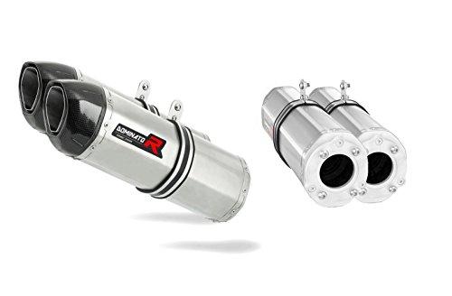 SV 1000 S Pot d'échappement HP1 Carbon Silencieux Dominator Exhaust Racing Bolt-on 2003 2004 2005 2006 2007