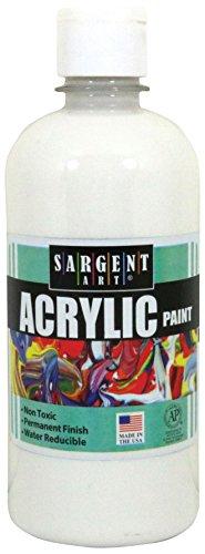 Sargent Art Acrylic Paint, White