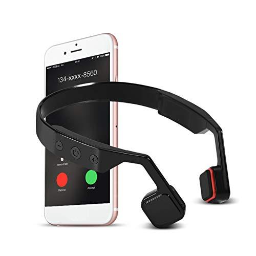Okuyonic Auriculares de conducción, 4.0 Reducción de Ruido Auriculares de conducción ósea Auriculares Deportivos para Correr para Fitness para Correr