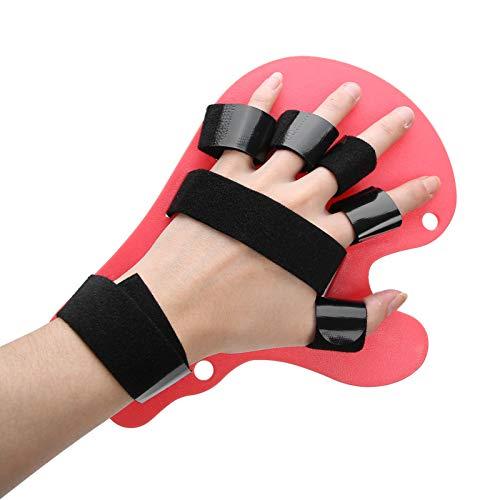 Separador de dedos Férula de ortesis de mano para niños Separación de dedos Tablero de extensión de espasmo flexible para niños Ejercicio de rehabilitación de poliomielitis
