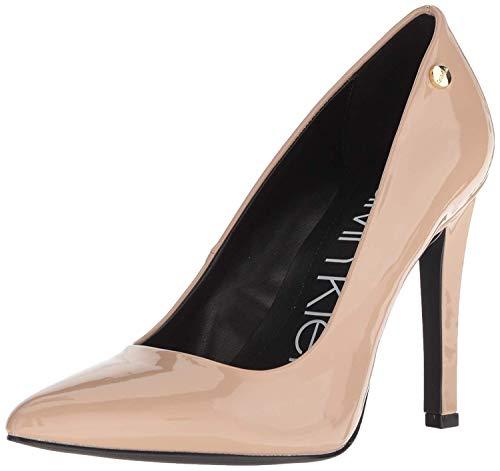 Calvin Klein Brady Pump M - Zapatos para Mujer, Patente de Arena del Desierto, 10