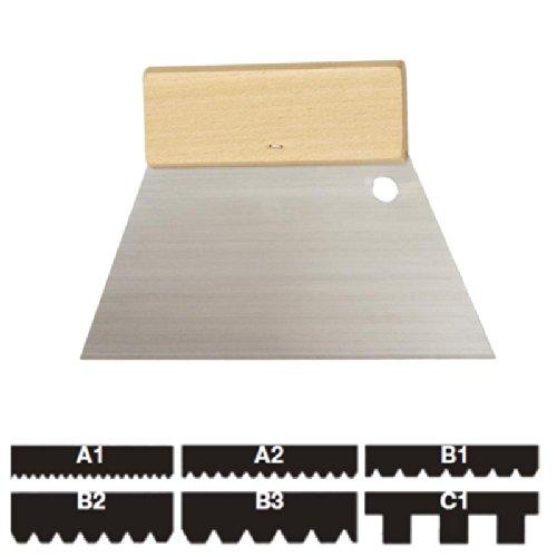 Kleberspachtel Trapezform - 18cm breit - B2