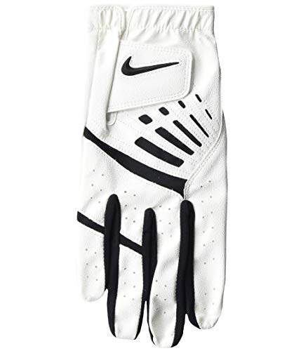 Nike Golf Glove Mens White DURA Feel R/H Golfhandschuh, weiß, S