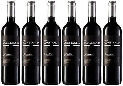 Finca Constancia Selección - Vino Tinto V.T. Castilla - 6 Paquetes de 750 ml - Total: 4500 ml