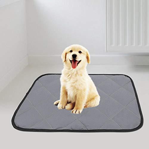 Nunafey Pet Pee Pad Auto Dog Pad, Hund Whelping Pad Pet(Gray, M)