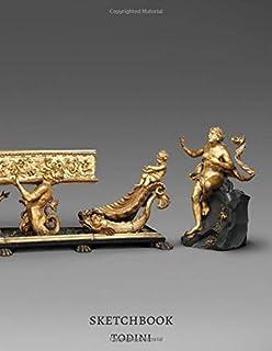 Harpsichord Galatea and Tritons 1670 Michele Todini Italian Sketchbook: Premium Cover Masterpiece Workbook Italy Journal f...