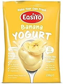 Easiyo 甘いバナナヨーグルトミックス230グラム - Easiyo Sweet Banana Yoghurt Mix 230g [並行輸入品]