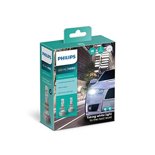 Philips Ultinon Pro5000 LED lampadina fari auto (HIR2), confezione doppia