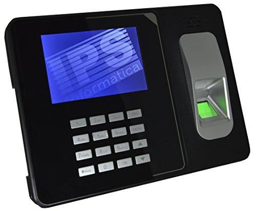 RILEVATORE PRESENZE CON IMPRONTA DIGITALE E RFID - CERTIFICATO CE- MENU E SOFTWARE IN ITALIANO E NR. 10 BADGE OMAGGIO - GARANZIA ITALIA - MONITOR A COLORI 4 , USB E LAN