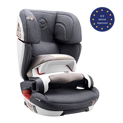 Siege Auto Groupe 1/2/3, Isofix, avec Bouclier et Norme ECE R44/04 (Securite Maximale pour votre Bébé de 9-36kg) - Siège Auto 1...