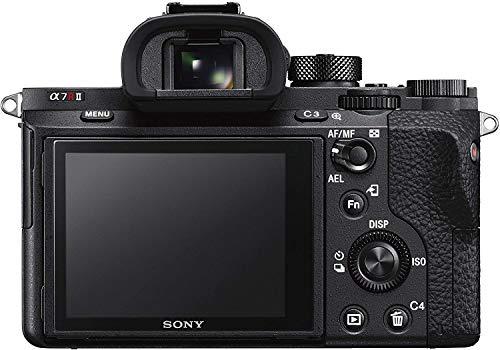 Sony Alpha 7 R II | Spiegellose Vollformat-Kamera ( 42,4 Mp, 0,02s AF, optische 5-Achsen-Bildstabilisierung im Gehäuse, 4K HLG Videoaufnahmen)