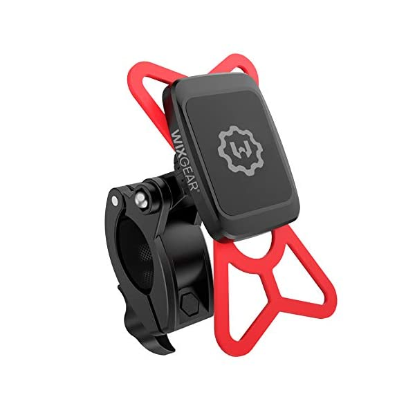 WixGear Universal Magnetic Bicycle & Motorcycle Handlebar Phone Holder for Cell...
