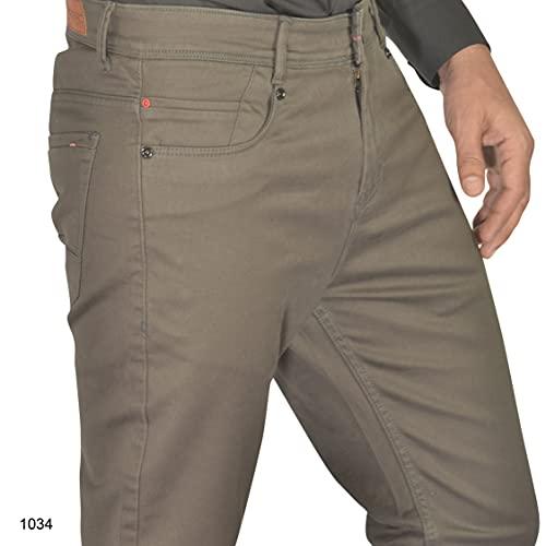 Fairro Italia Five Pocket Jeans Style Cotton Casual Trouser for Men's/Boy's