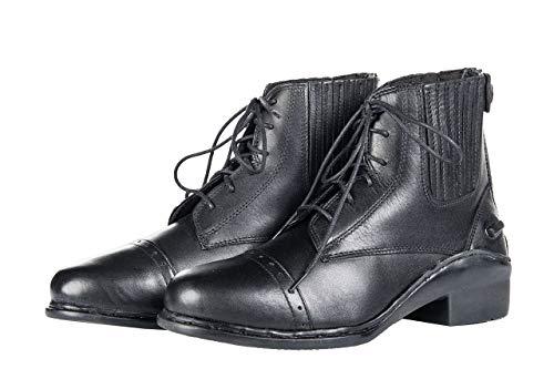 HKM Jodhpurstiefel mit Schnürsenkel/Reißver. -Profi-, schwarz, 38