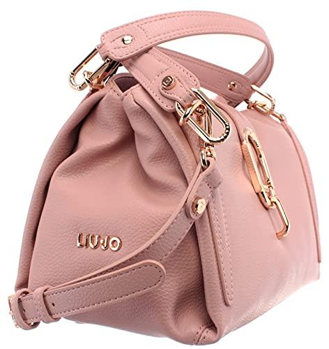 Borsa Liu-jo satchel S a mano/tracolla 3 comparti colore cameo rose BS20LJ38