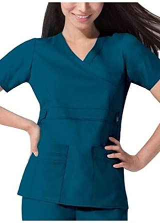 Dickies Scrubs Womens Gen Flex Junior Fit Contrast Stitch ...