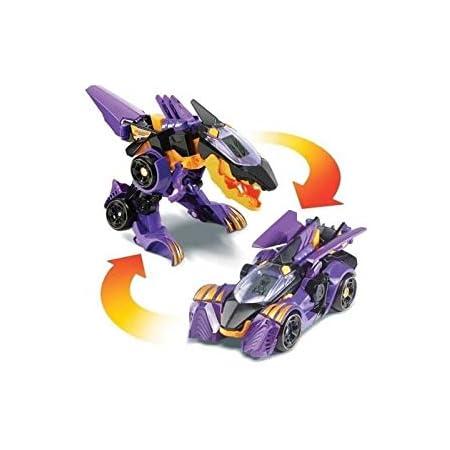 Switch & Go Dinos - Brutor, le super Spinosaure (Voiture de course) (1 dans le box) - Version FR